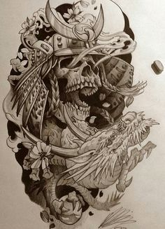 Sketch tattoo designs awesome 60 sketch tattoos for men artistic Sketch Tattoo Design, Tattoo Sketches, Tattoo Drawings, Skull Tattoos, Body Art Tattoos, Sleeve Tattoos, Japanese Tattoo Art, Japanese Tattoo Designs, Japanese Mask