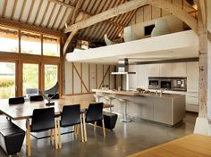 Thatched Barn by Bulthaup by Kitchen Architecture