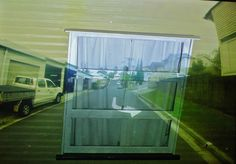 Window in the Road; projection, 2014.