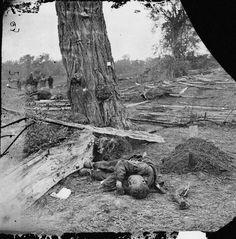 Confederate soldier at Sharpsburg