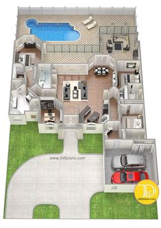 Residential Floor Plans for Sawyer Sound Property