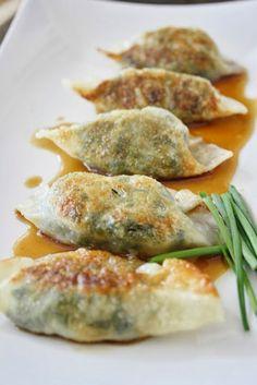 Yummy Recipes: Vegetarian Dumplings recipe