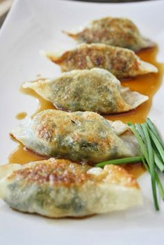 Yummy Recipes: Vegetarian Dumplings recipe