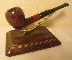 Vintage Yorkshire Filter Straight Apple Style Estate Briar Tobacco Smoking Pipe