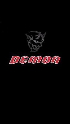 Dodge Demon Logo iPhone Wallpaper - Best iPhone Wallpaper