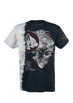Alchemy #england #apparel ace of #skulls ul13 gothic men's t-shirt black grey,  View more on the LINK: http://www.zeppy.io/product/gb/2/151947736492/
