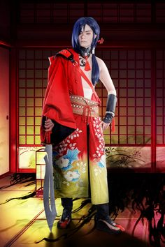 Koujaku / DRAMAtical Murder / Ferasha / Cosplay / Althemy / Japan / yaoi / gay