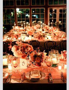 Decoración boda en otoño