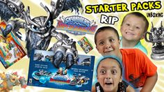 """Skylanders SuperChargers: WHAT A """"RIP""""!?!?  Starter Pack Unboxing: Dark ..."""