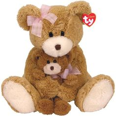 Ty Cradles  Mothers Day Bear with Small Bear -- Check this awesome product by going to the link at the image.