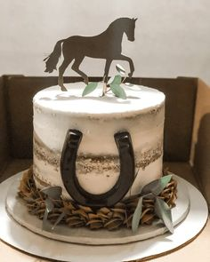 Country Birthday Cakes, Cowgirl Birthday Cakes, Horse Theme Birthday Party, Cowgirl Cakes, Western Cakes, 18th Birthday Cake, Birthday Cakes For Women, Birthday Cake Girls, Cake Designs Images