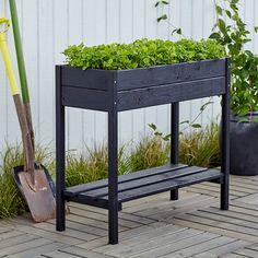 Kukkalaatikko 88 x 37 x 79 cm Wood Planter Box, Wood Planters, Indoor Garden, Indoor Plants, Potager Palettes, Wall Plant Hanger, Herb Planters, Herbs Indoors, Hydroponic Gardening