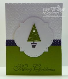 Pennant Parade by Debbie Henderson, Debbie's Designs, Stampin' Up! supplies.