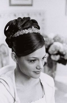 Photograph by CrescentBride606 on 06 Brides from LIWeddings.com Thomas Knoell Custom French Kiss Bridal Headpiece