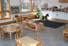 Infant Classroom Design | Toddler Classrooms » Seton Montessori School