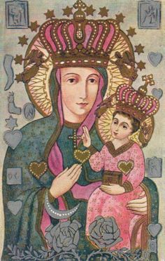 Patroness of Poland      Our Lady of Częstochowa, patroness of Poland.    an admirer told me he thought i was polish the first time he met me… still can't get it out of my mind