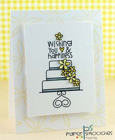 Wishing You Love & Happiness card by Kryssi Ng for Paper Smooches