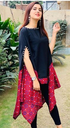 Most Beautiful Kurti Designs with Skirt Collection 2021    Kurti with Skirt    My Fashion Collection Pakistani Fashion Party Wear, Indian Fashion Dresses, Indian Designer Outfits, Girls Fashion Clothes, Beautiful Pakistani Dresses, Pakistani Dresses Casual, Pakistani Dress Design, Kurti Designs Pakistani, Pakistani Bridal