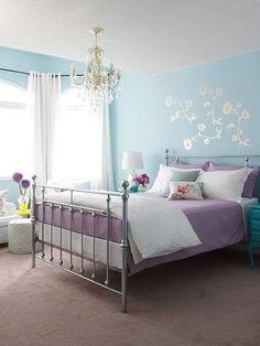 Come dipingere le pareti della camera da letto | интерьер ...