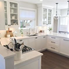 Incredible White Kitchen Design Ideas 34 In 2019 Hair Styles