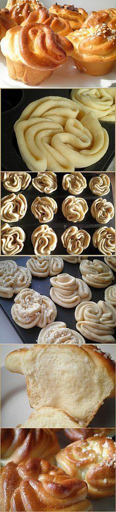 Ароматные булочки с разнообразной начинкой.