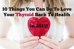 I've declared this the year of a thyroid health revolution. I've created a top-to-bottom list of 10 steps you can take to love your thyroid back to health — from head to toe. Thyroid Issues, Thyroid Cancer, Thyroid Disease, Thyroid Problems, Thyroid Health, Autoimmune Disease, Autoimmune Paleo, Health And Beauty, Health And Wellness