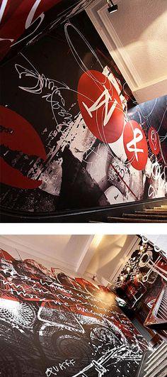 Illustrations up in Nosh & Quaff restaurant Birmingham. Kind of illustrative / street art inspired by the work of Neasden Control Centre Neo Expressionism, Birmingham, Centre, Art Ideas, Street Art, Restaurant, Illustrations, Wall Art, Inspired