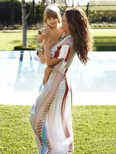 Brooke Burke and son