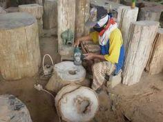 Petrified Wood Polishing