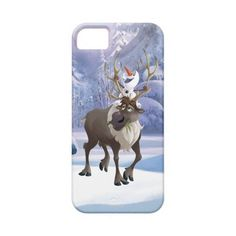 Olaf and Sven Iphone 5 Cases ($37) ❤ liked on Polyvore featuring accessories and tech accessories