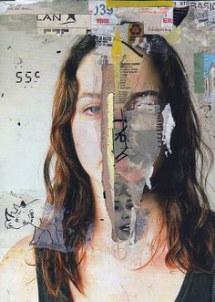 Using collage to express a culture of a person. Medias that effected to shape a person can be used in the collage. Collage Kunst, Art Du Collage, Mixed Media Collage, Collage Portrait, Mixed Media Faces, Artistic Portrait, Canvas Collage, Collage Collage, Collage Photo