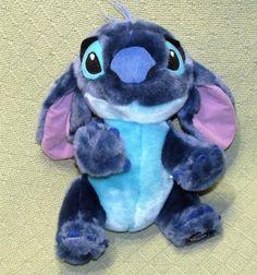 "Disney Store Lilo & Stitch 11"" Plush STITCH Exclusive Stuffed Animal Alien Toy  #DisneyStoreExclusive"