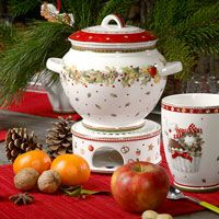 Villeroy and Boch Novelties Christmas 2013 Decorations and Tableware