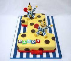 bananas in pyjamas cake - Google Search
