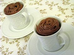 Thermomix Chocolate Mousse