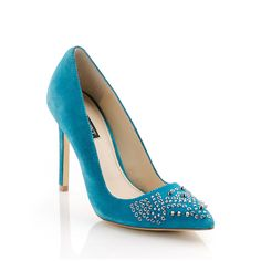 Fab.com   Ruth High Heel Turquoise