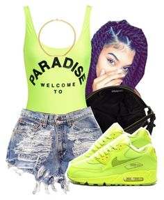 """i swear people are crazy"" by lovebrii-xo ❤ liked on Polyvore featuring River Island, Filles à papa and Ettika"