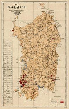 Cartina Sardegna Fiumi.190 Idee Su Sardegna Nel 2021 Sardegna Sardegna Italia Mappe Antiche