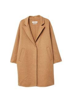 Wool handmade coat from Mango