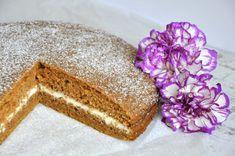 Fit ciasto marchewkowe z kremem - zdrowe słodycze Food And Drink, Fit, Shape