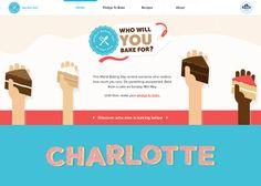 World Baking Day #webdesign #inspiration #UI