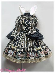 Angelic Pretty Wonder Queen Dress(Black)