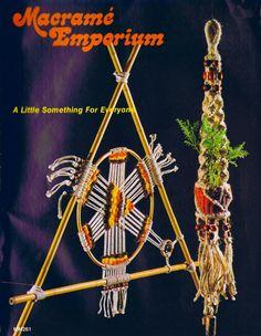 Vintage Macrame Patterns 1970s Hammock Log Holder Picnic Basket Home Decor PDF eBook