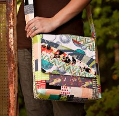 Sewing Pattern: Smithfield Bag PDF download, zipper or snap ... : quilted messenger bag pattern - Adamdwight.com