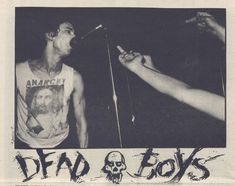 "zombiesenelghetto: "" Dead Boys, Search and Destroy Zine #4, 1977 """