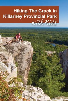 Killarney Provincial Park in Killarney, Ontario, Canada has many hiking trails for all levels of fitness. As a day hike, we chose The Crack. It proved to be challenging but the views at the end were definitely rewarding. Hiking With Kids, Travel With Kids, Family Travel, Family Camping, Backpacking Canada, Canada Travel, Family Adventure, Adventure Travel, Ontario Travel