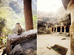 Elephanta Island, India.  Lots of steps, ruins and crazy monkeys that steal your Coke!