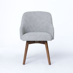 Saddle Office Chair | west elm-hello adorable...good as a pair? Possible dining chair?