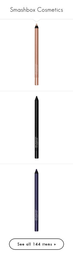 """Smashbox Cosmetics"" by shoppings9 ❤ liked on Polyvore featuring beauty products, makeup, eye makeup, eyeliner, gel eye liner, eye pencil makeup, smashbox eye makeup, smashbox, gel pencil eyeliner and smashbox eyeliner"