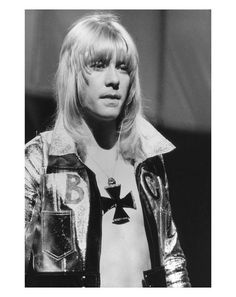 Laugh. Smile. Music. (Brian Connolly of The Sweet)